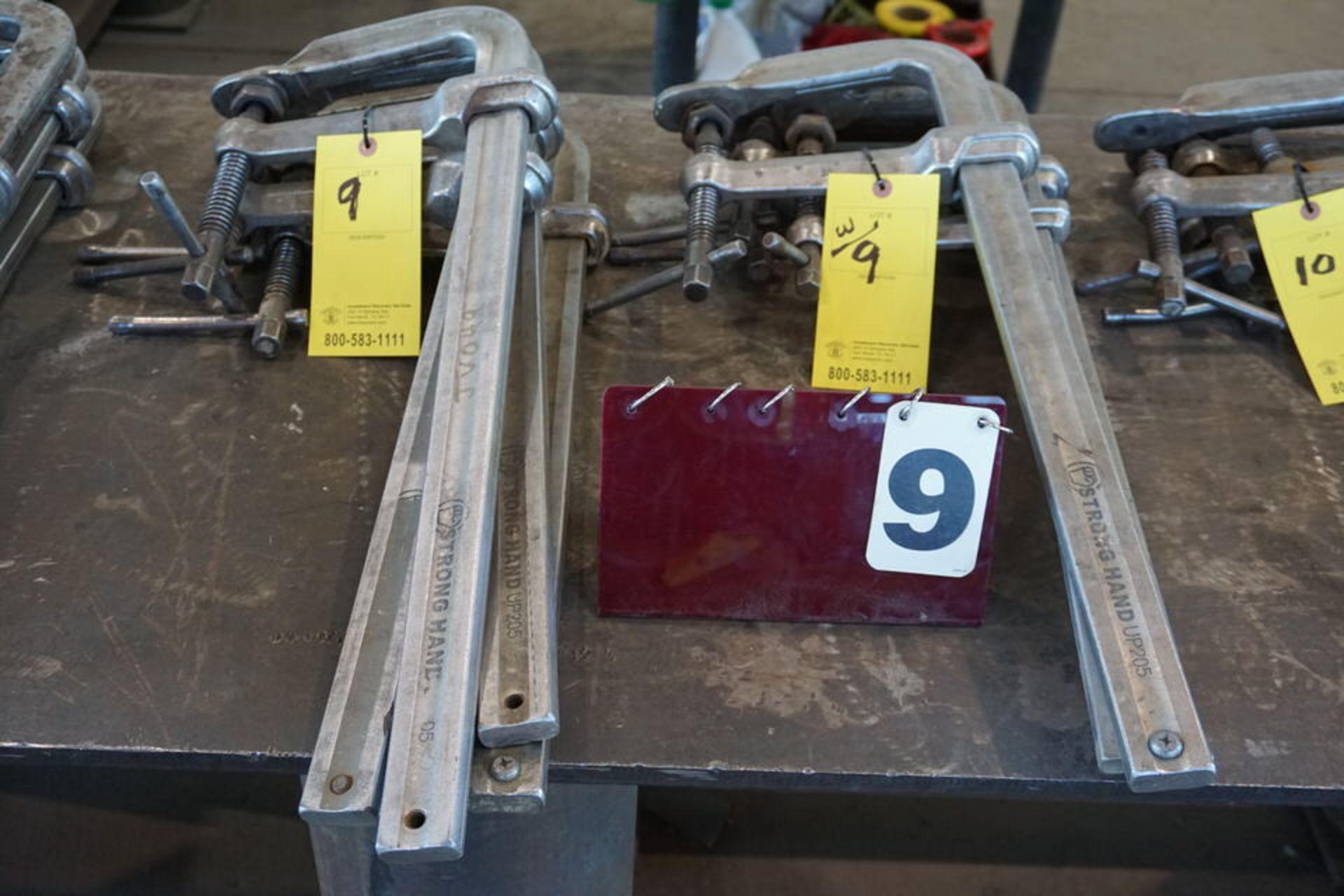 Lot 9 - (8) WELDERS BAR CLAMPS
