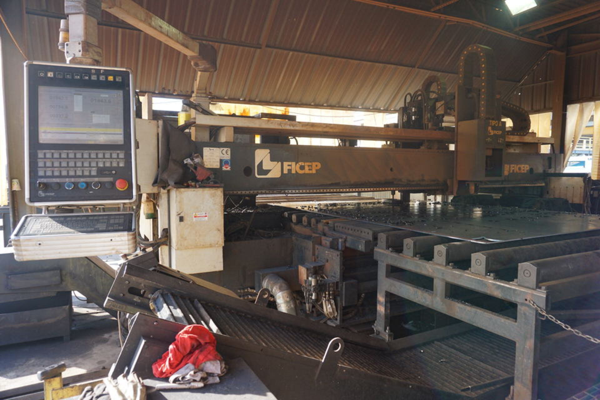 Lot 239 - 2014 Ficep Tipo A25-LG Plate Processing System