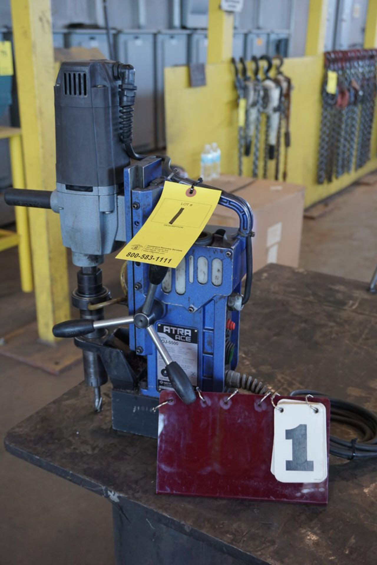 Lot 1 - ATRA ACE MAGNETIC DRILL, MDL: VOJ-5500