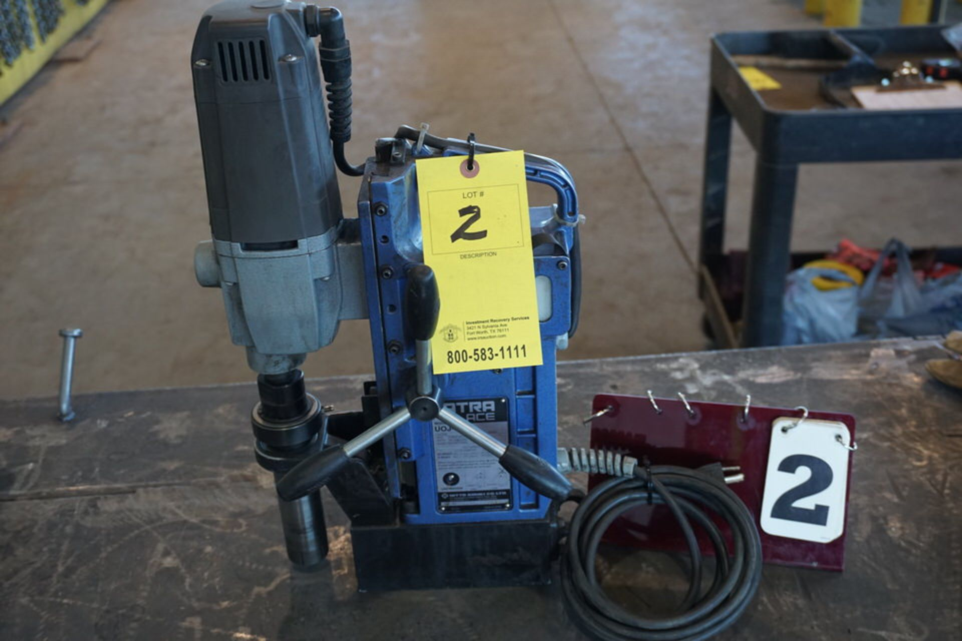 Lot 2 - ATRA ACE MAGNETIC DRILL, MDL: VOJ-5500