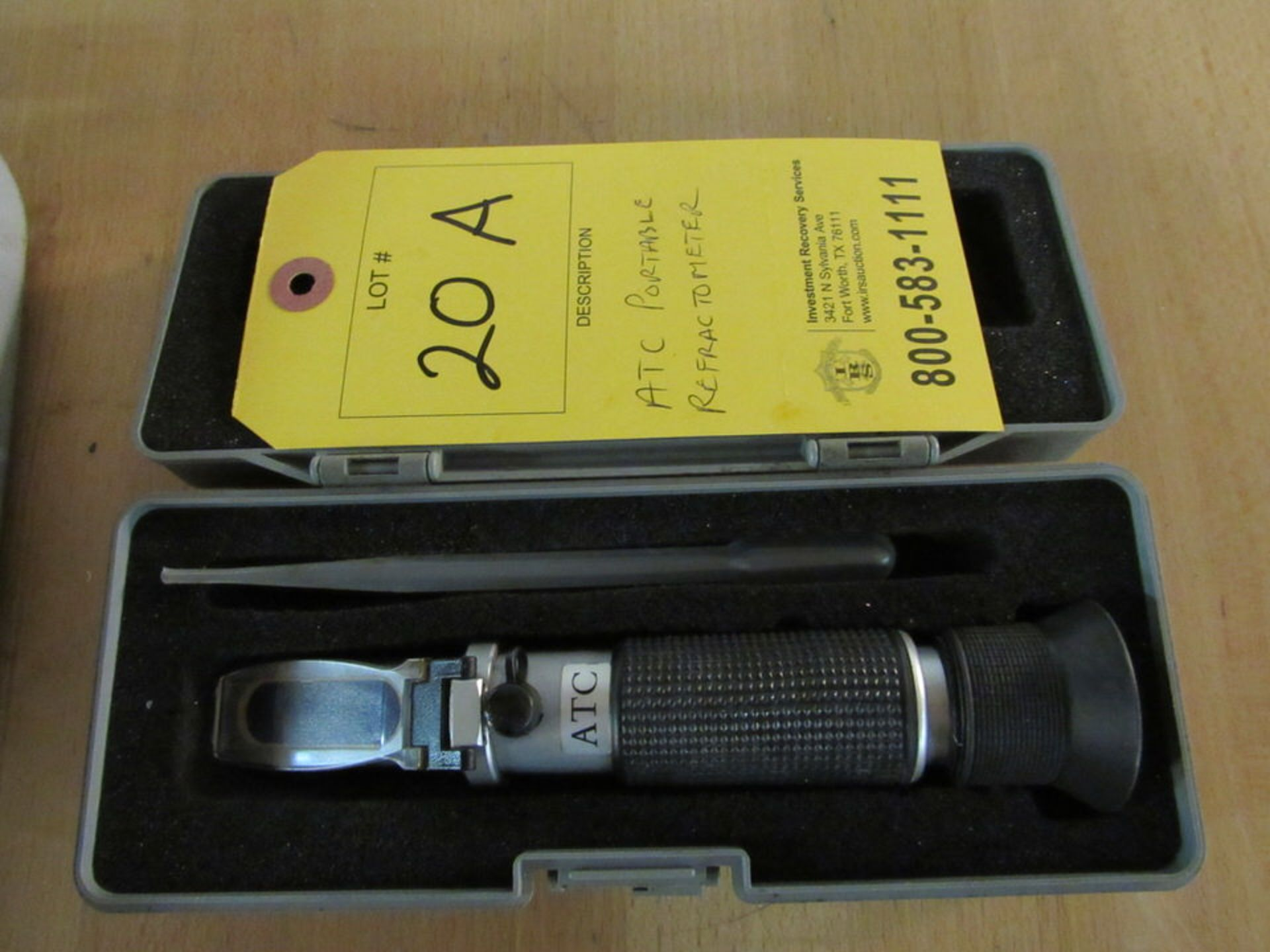 Lot 20A - ATC Portable Refractometer