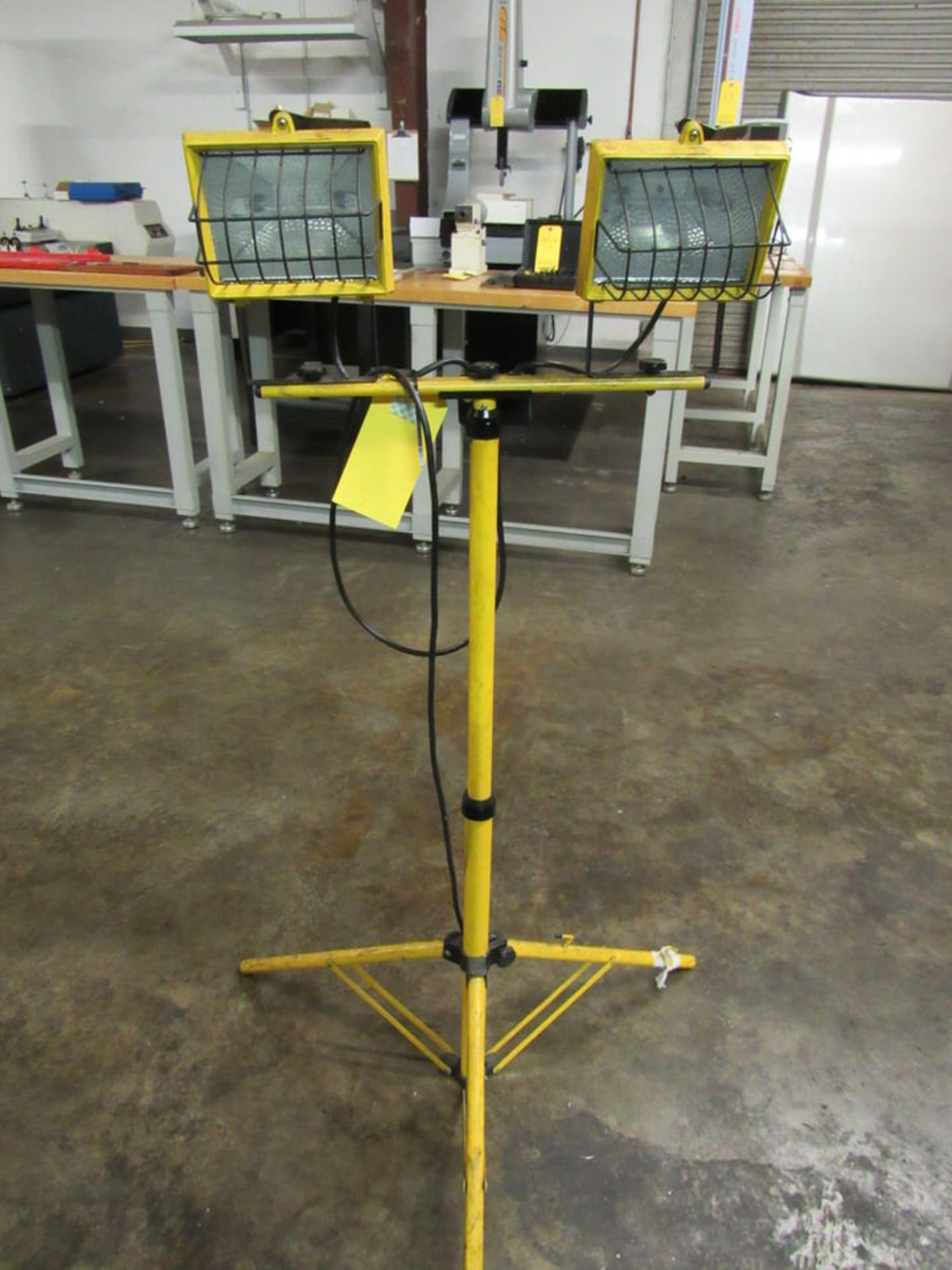 Lot 13 - Listed Work Light, 53 TK, with stand