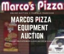Marcos Pizza Franchise Closure Auction