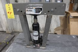 CENTRAL MACHINERY 12 TON HYDRAULIC PIPE BENDER