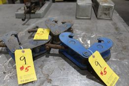 3 BEAM CLAMPS