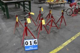 8 BLUE STAR PIPE STANDS
