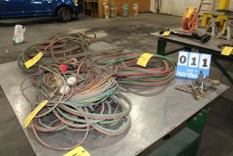 CONT OF TABLE: CUTTING TORCH HOSES W/ REGULATORS