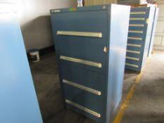Vidmar 4 Drawer Cabinet, #42