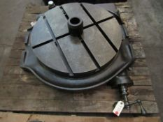"24"" Rotary Table"