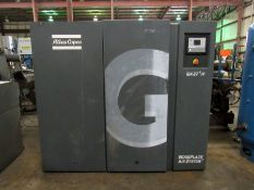 ATLAS COPCO MODEL GA37+FF OIL-INJECTED ROTARY SCREW AIR COMPRESSOR