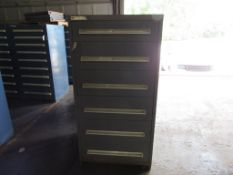 Vidmar 6 Drawer Cabinet, #00