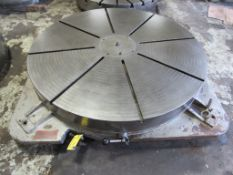 "60"" MACHINE PRODUCTS CORP. MODEL FW-60 ROTARY TABLE"