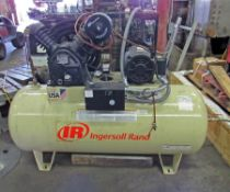 INGERSOLL RAND MODEL 2545 TANK MOUNTED AIR COMPRESSOR