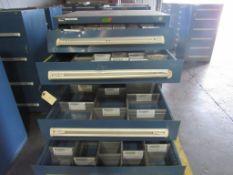 Vidmar 9 Drawer Cabinet, #91