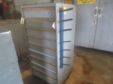 9 Drawer Lista Storage Cabinet with contents,