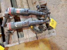 "Metabo WEPBA-17-25 (2) 5"" Angle Grinders 14.5A, 120V, 50/60HZ"