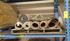 Rubber Mats & Clear Sealtop Bags 30x30 4 mil