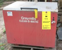 Graymills Clean-O-Matic Parts Washer Tank