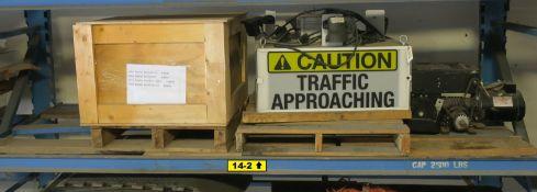Liftmaster Overhead Door Opener, Allen-Bradley Contactors, Forklift Traffic Caution System