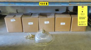 Polished Brass Bowl Pendant Lighting Fixture (5103-10)