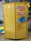 Eagle Model 1945 45 Gal Fm Approved Fire Protection Cabinet 65.5 X 42.75 X 65.5