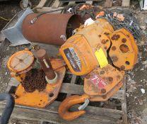 Peerles Electric Hoist 7.5 Ton Chain