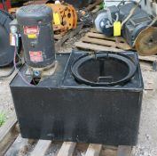 Coolant Tank & Pump