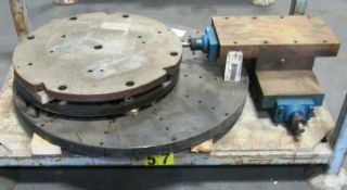 22 in & 32 in Lathe Index Face Plates, Misc. Lathe Equipment