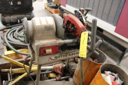 """ROTHENBERGER 50R PIPE THREADER, 2"""" HOLE"""