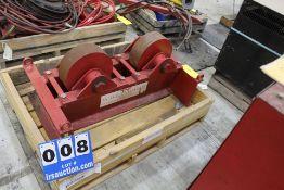"""WELD TURNING ROLLS, MDL:WWSI-200F, 20,000 LB CAP, 12"""" WHEELS, 12"""" WIDTH"""