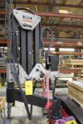 FLEXARM TAPPING MACHINE W. CONTROLLER, TAPPING TOOLING