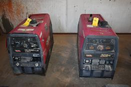 LINCOLN ELECTRIC 10,000 PLUS GAS WEDLER, (1) LINCOLN ELECTRIC RANGER 305 G, NO LEADS, NEEDS REPAIR