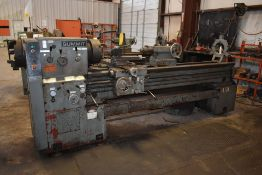 "SUMMIT 19-4X80 ENGINE LATHE, 12"" 3 JAW CHUCK, DUAL CHUCK, QUICK CHANGE TOOL POST, STEADY REST"