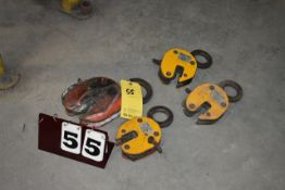 (4) PLATE LIFTING CLAMPS