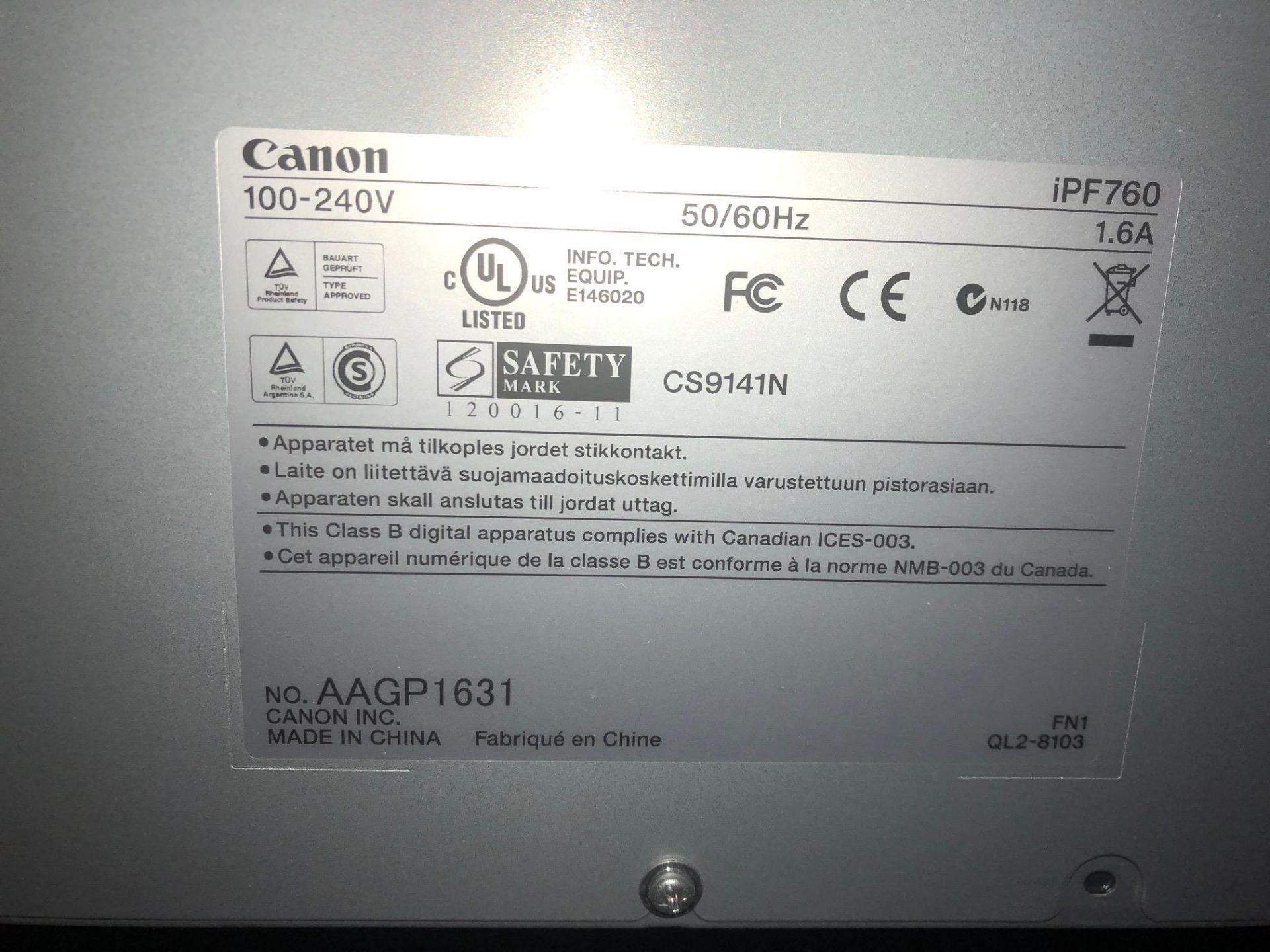 Lot 383 - Canon imagePROGRAF 760