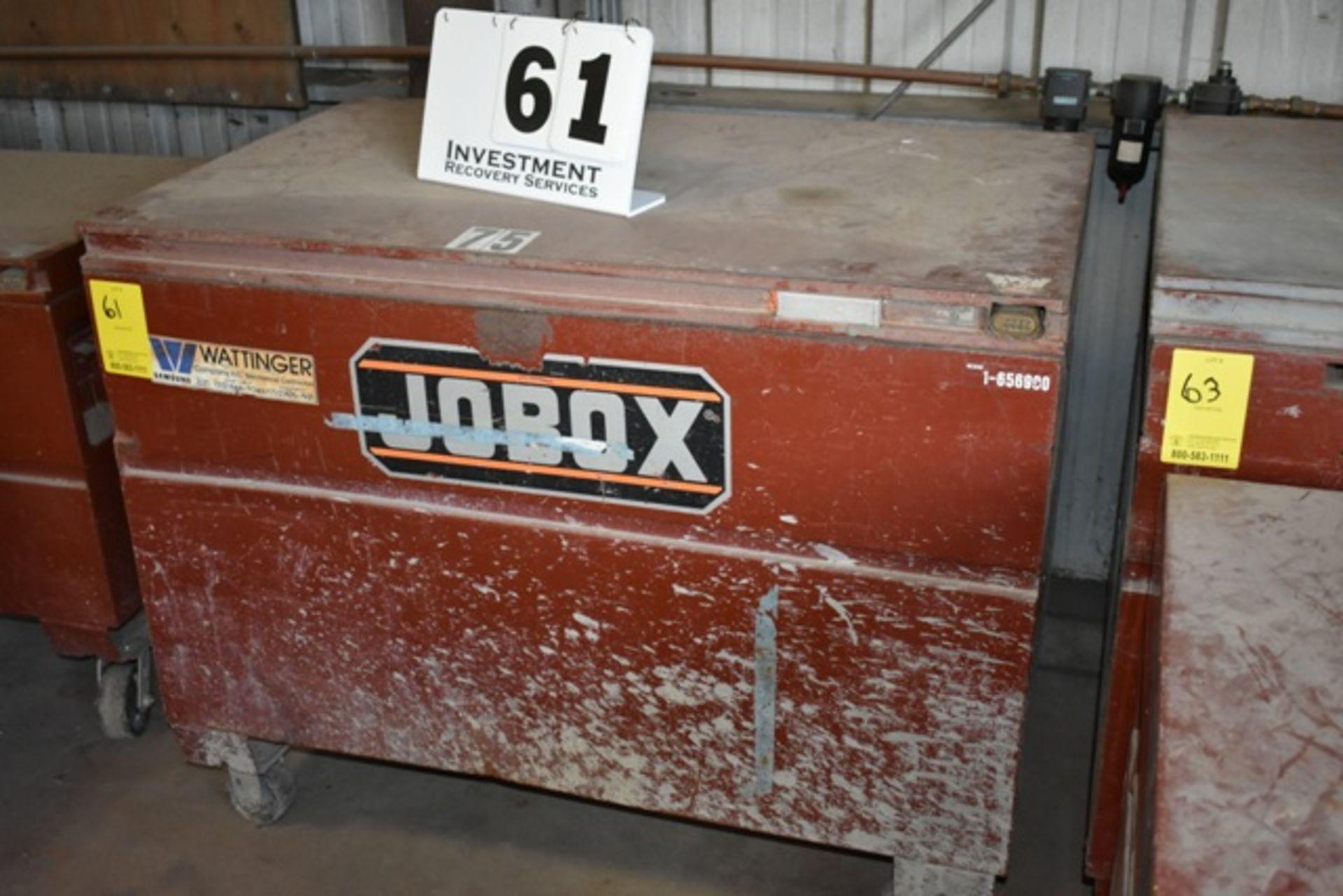 Lot 61 - JOBOX GANG BOX W/ CONTS AS SHOWN