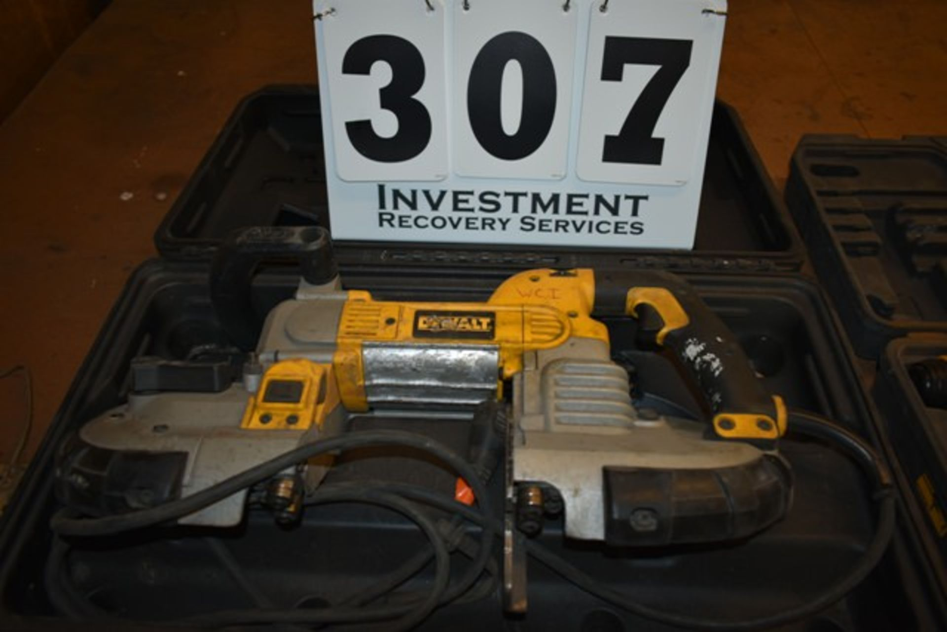 Lot 307 - DEWALT PORT-A- BANDSAW