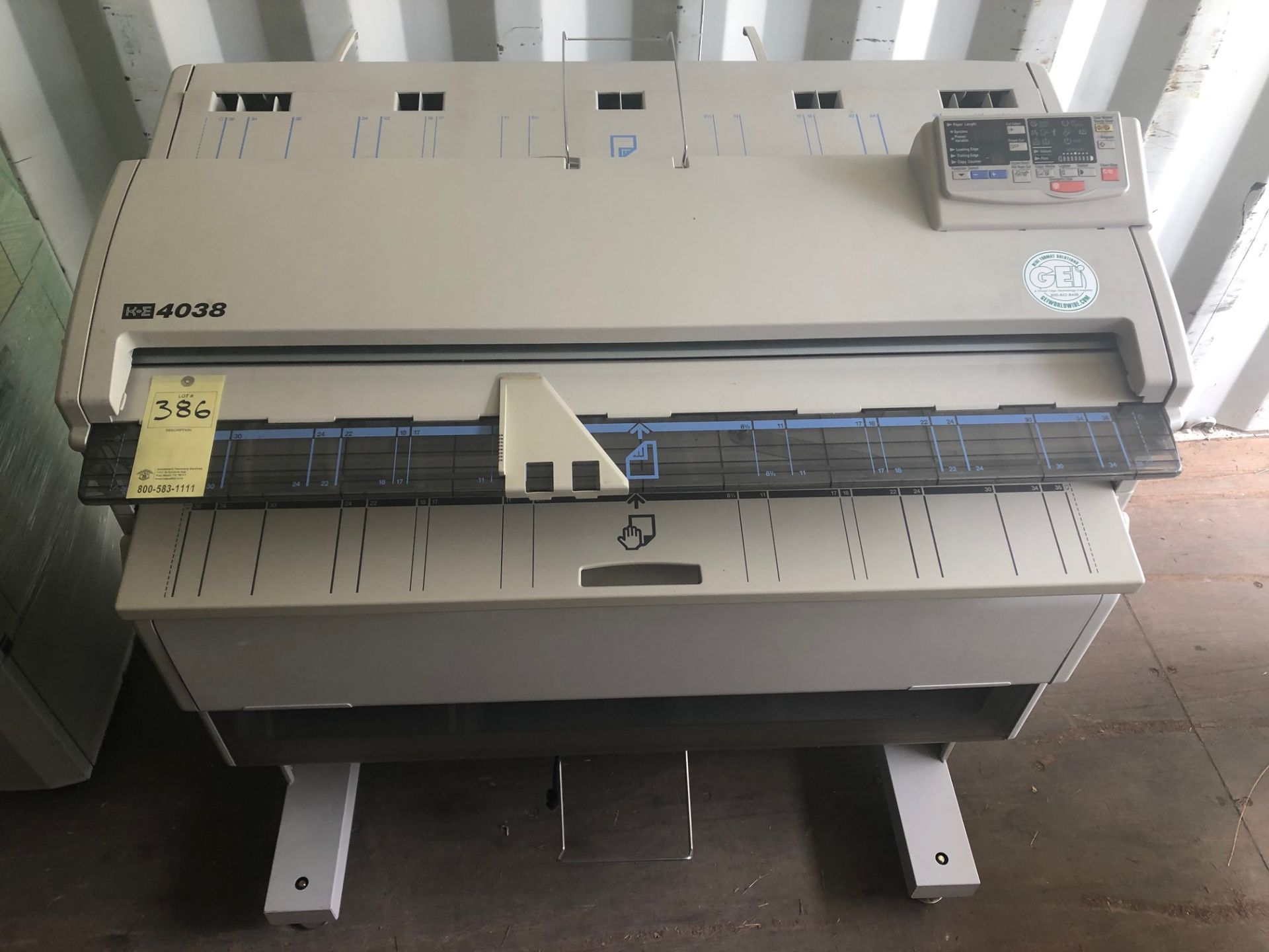 K E 4038 Plotter Printer