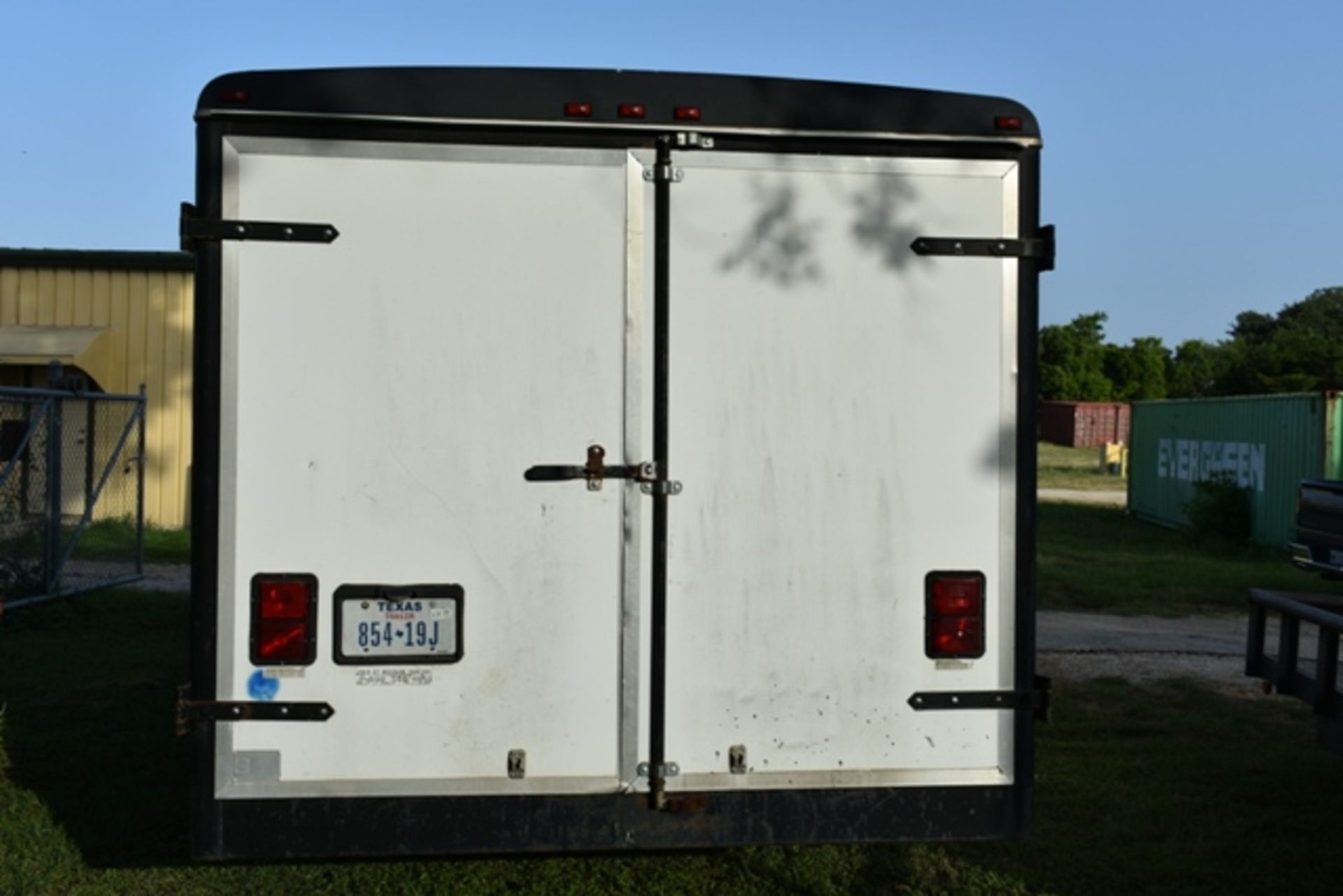 Lot 89 - 1995 WELLS CARGO ENCLOSED TRAILER, APPROX 8' X 20LG