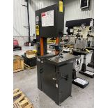 Dayton 4TK02A 18'' Band Saw With Blade Welder 24'' x 22'' Table With 45 degree Tilt, 1-1/2Hp (CV),