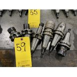 (6) Hass BT 40 End Mill Tool Holder