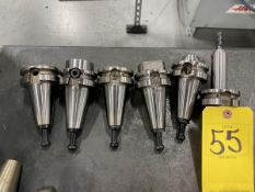 (6) Hass BT 40 End Mill Tool Holders
