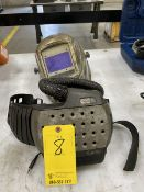 Miller 9400 Fx 3M SpeedGlass Adflo Air Fed Welding Helmet