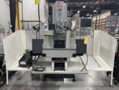"2010 HAAS TM-2 CNC Mill X-Travel 40"" Y-Travel 16'', Z-Travel 16"", 57.75"" x 10.5"" Table Dimensions"