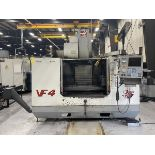 2000 HAAS VF-4 4-Axis CNC Vertical Machining Center 52'' X 18'' Table, 3,500 Max Load Capacity, 50''