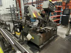 1997 Spartan PA10 Horizontal Band Saw 8'' x 12'' Rectangular, 10'' Rounds, 111' x 6'' Length, 1''