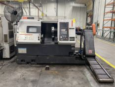 2005 Mazak QTN-250 CNC Lathe 9.05'' X-axis Travel, 22.63'' Z- axis Travel, 24'' Swing 14'' Max