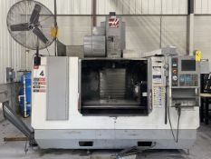 "2004 HAAS VF-4B 4-Axis CNC Vertical Machining Center (X-Axis Travel 50""), (Y-Axis Travel 20""), (Z-"