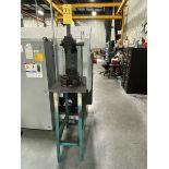 Dayton 3Z949 3-Ton Arbor Press With 15''W x 25'' L x 36''H Metal Stand
