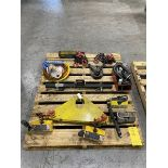 (1) Skid Of Assorted Lifting Equipment To Include (1) 1/4 Ton Heavy-Duty Short Span Lifting Beam, (